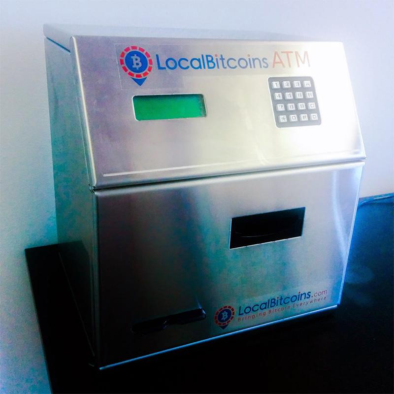 Биткойн-ATM в Хелсинки